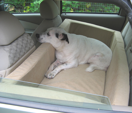 dog car bed