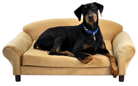 isadora pet sofa buckskin with removable cushion