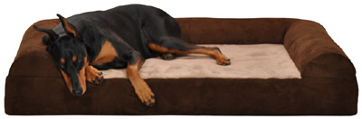 Bolster pet beds,Dog Beds,orthopedic pet beds,memory foam dog beds